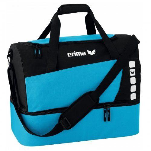 Erima-sac-723573-Turquoise-Bleu-noir-60-x-35-x-45-cm-60-Liter-NEUF