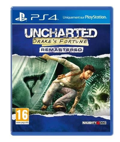 Sony Uncharted: Drake's Fortune Remastered Remastered Playstation 4 English Video Game