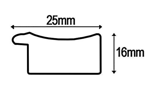 inov8-Miroir-cadre-Austen-MFES-AUDC-1612-Beige-35-5-x-46-x-5-cm-NEUF