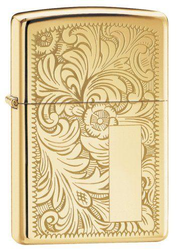 Zippo - 50850049 Briquet Brass Brass Briquet Venetian 3,5 x 1 x 5,5 cm - [352B] NEUF ba1edf