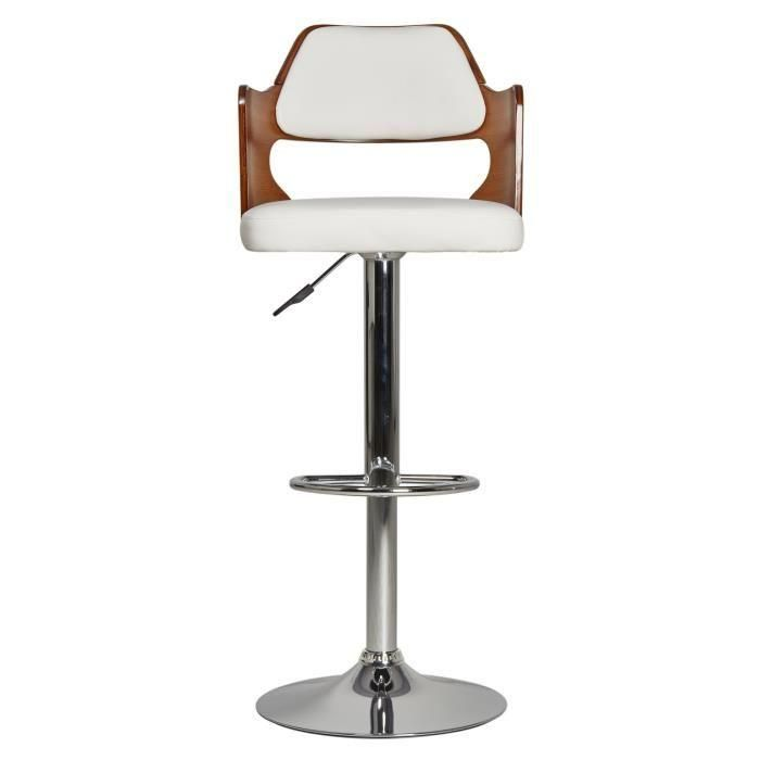 avesta tabouret de bar t lescopique en bois bambou et pieds m tal neuf ebay. Black Bedroom Furniture Sets. Home Design Ideas