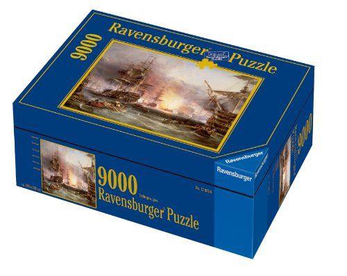 Ravensburger - - Puzzle - Le bombardement d'Alger - 9000 Pièces  NEUF