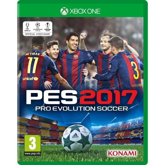 Microsoft Pes 2017, Xbox One Basic Xbox One English, French Video Game