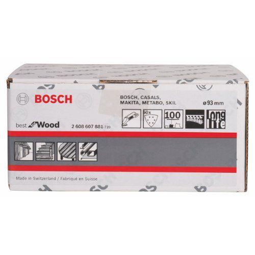 Bosch-Abrasif-50-pieces-Bois-93-mm-Grain-100-2608607881-NEUF