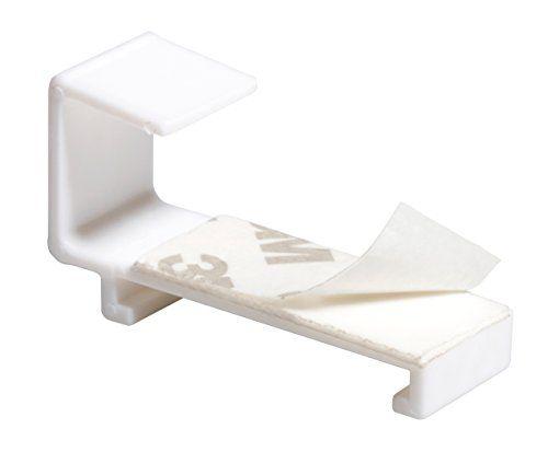 mydeco-Klemmfix-store-occultant-sans-percage-blanc-140-x-65761-gris-NEUF