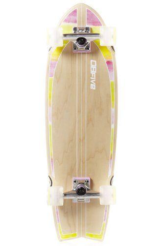 OBFive - Skateboards Skateboard Cruiser Fut en [Marron - bois] [78,7 cm] NEUF