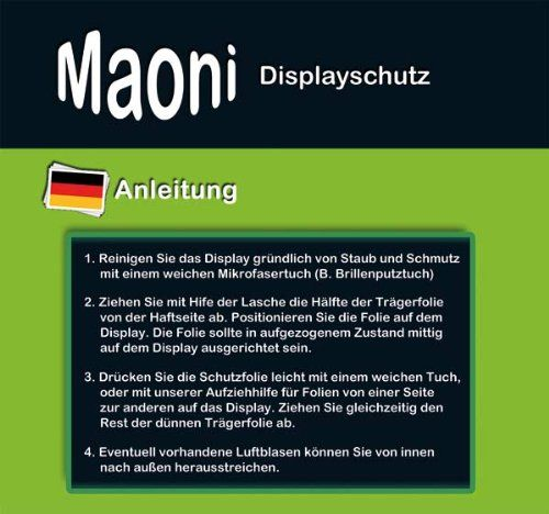Maoni-Film-de-protection-d-039-ecran-Samsung-Galaxy-Tab-4-8-0-SM-T331-NEUF