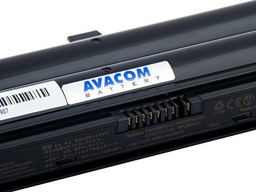 Avacom-Batterie-pour-Ordinateur-Portable-Fujitsu-Siemens-Akku-noir-NEUF