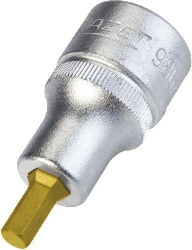 Hazet-Douille-male-Carre-creux-12-5-mm-986A-7-32-revetue-CVD-TIN-NEUF