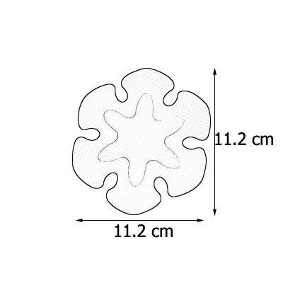brinox-antiderapant-baignoire-design-B60140S-Rose-11-5x9-7x0-1-cm-NEUF