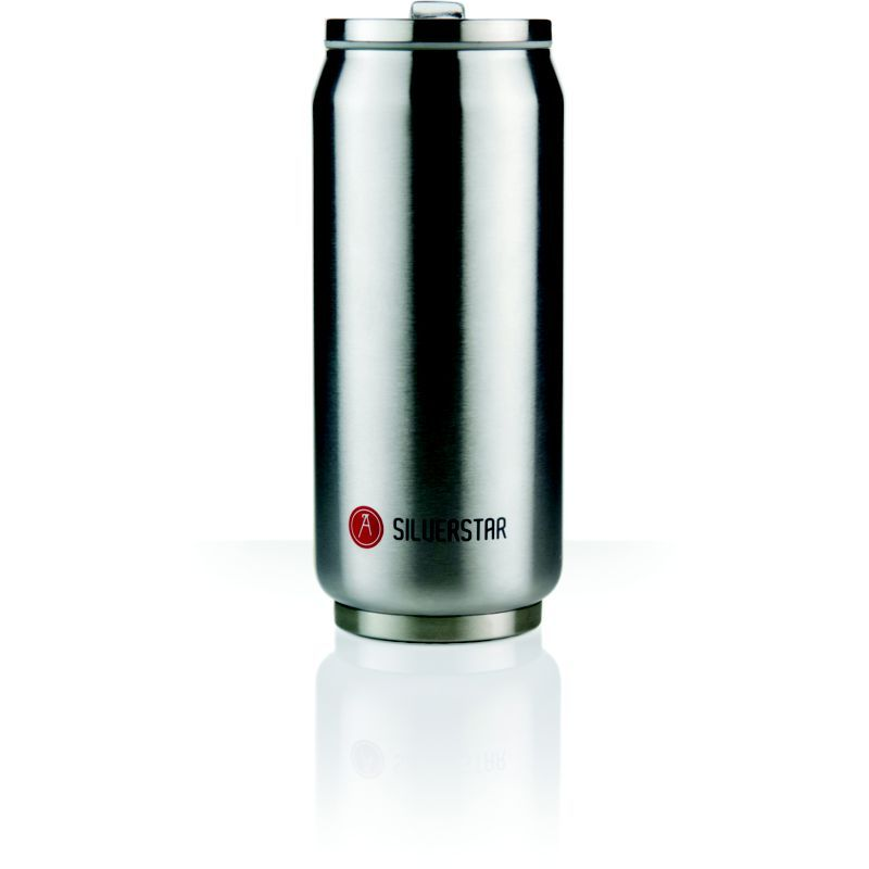 Les-Artistes-mug-Can-039-it-Argent-Metallic-607341-Gris-NEUF