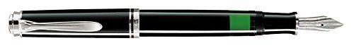 Pelikan-Stylo-bille-924993-Noir-Argent-NEUF
