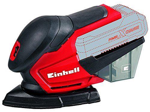 Einhell-TE-OS-18-Li-Solo-SoftGrip-Ponceuse-multi-4460710-Rouge-NEUF