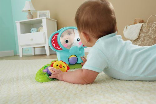 Fisher-Price-Rainforest-2en-1lit-bebe-Mobile-BFR22-Vert-NEUF