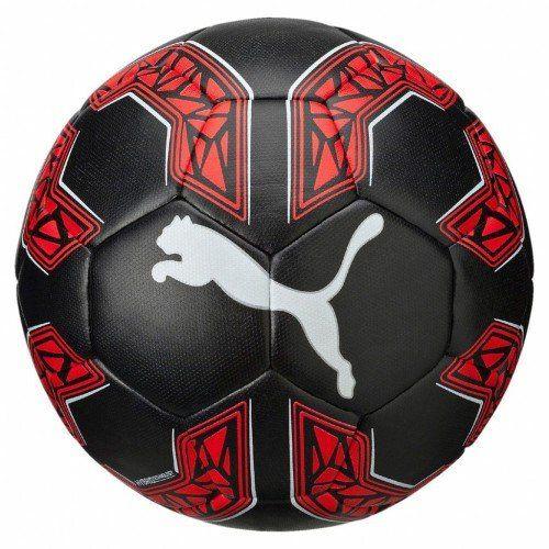 Puma-Ballon-de-football-082657-01-Noir-Black-Red-Blast-White-4-NEUF
