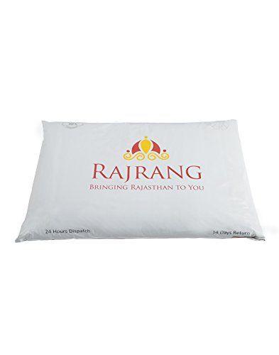 Rajrang-Colorfull-Coton-Lot-de-5-Housse-de-coussin-CCS07440-Jaune-NEUF