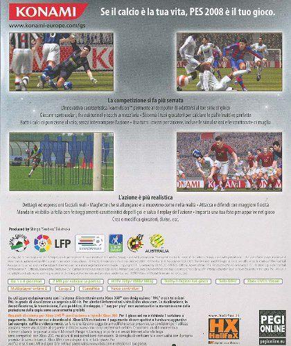 Konami Pro Evolution Soccer 2008, Xbox 360