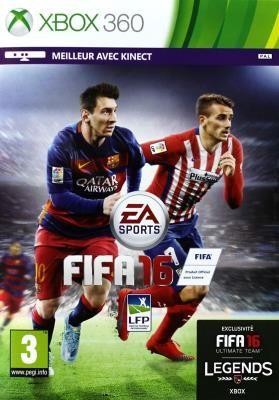 Electronic Arts Fifa 16, Xbox 360 Basic Xbox 360 English, French Video Game